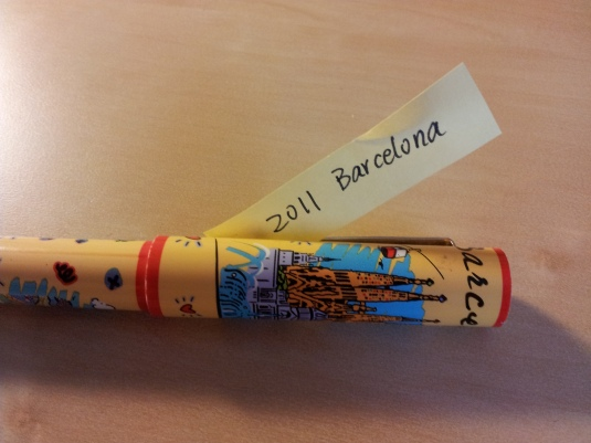 Picture 3: Souvenir pen from La Sagrada Familia by Antoni Gaudí, in Barcelona