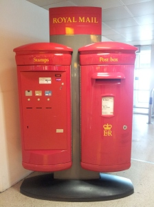 Royal Mail stand