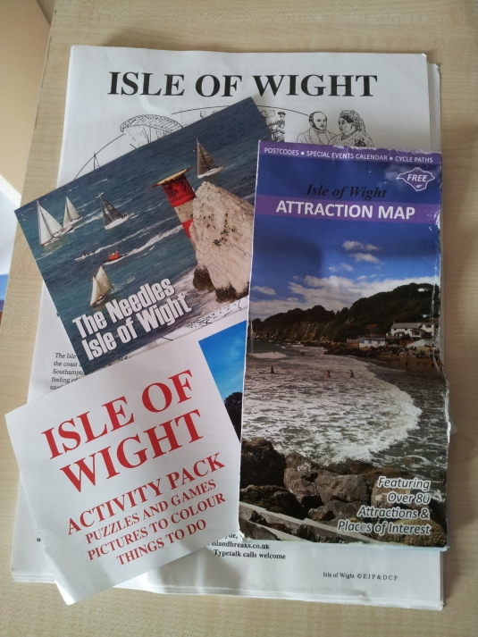 The paper souvenirs of Isle of Wight
